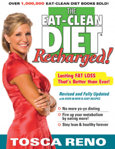 """Eat Clean Diet Recharged"", Tosca Reno"