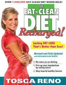 """Eat Clean Diet Recharged"", Tosca Reno"