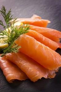 Lachs enthält wertvolle Omega-3 Fettsäuren